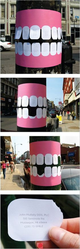 guerrilla marketing studio dentistico